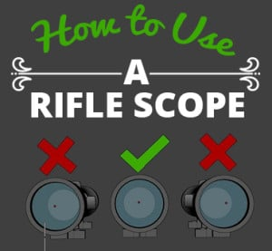 How to User a Rifle Scope