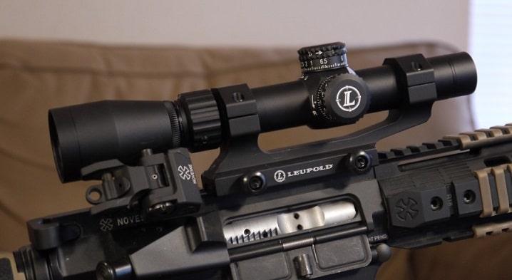 Leupold Mark AR MOD 1 on a rifle