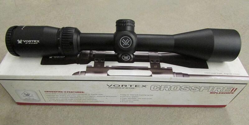 Vortex Crossfire II 3 9x40 on its box