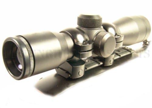 4x30 Rifle Scope w/ Free Mount & Rings