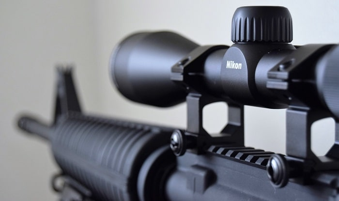 Nikon Buckmaster 3 9x40 mounted on a rifle