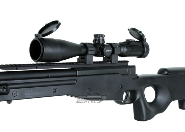UTG 30mm SWAT 3 12x44 on a rifle
