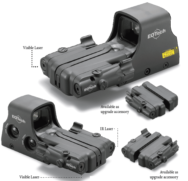 Parts of the EOTech 512.a65
