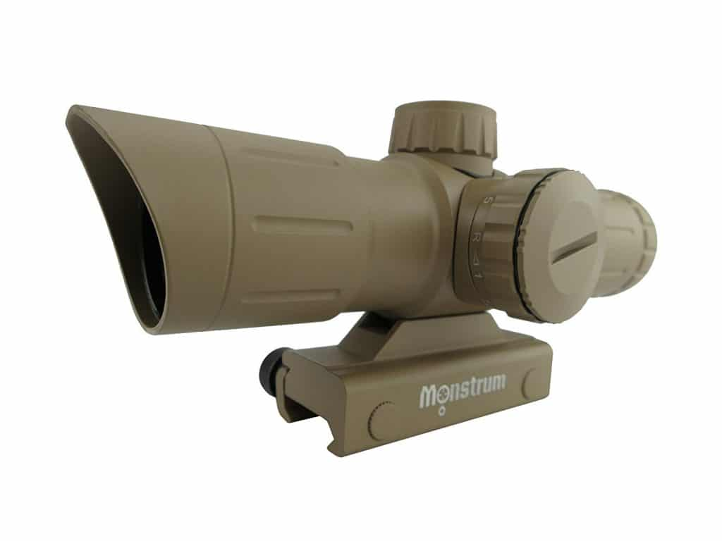 Monstrum Tactical 3X30 Rifle Scope