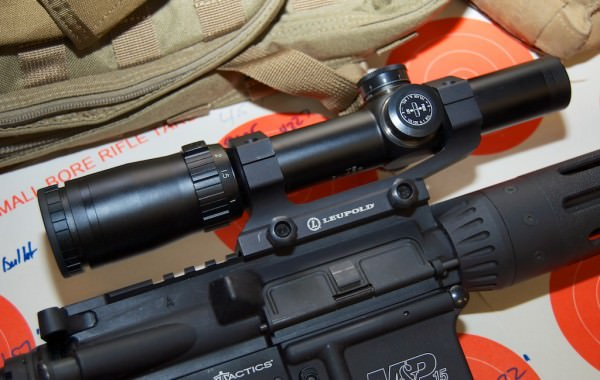 bushnell scope on a rifle