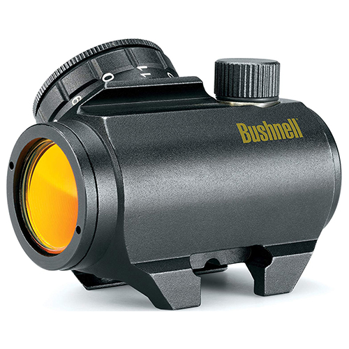 product photo of a Bushnell Trophy TRS-25 Red Dot Sight Riflescope, 1x25mm, Black