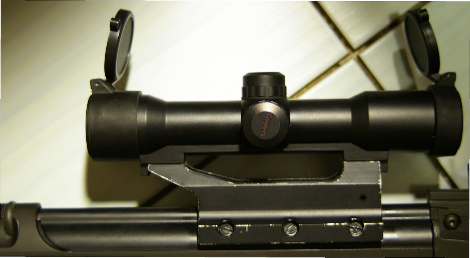fn fal rifle stanag scope mount