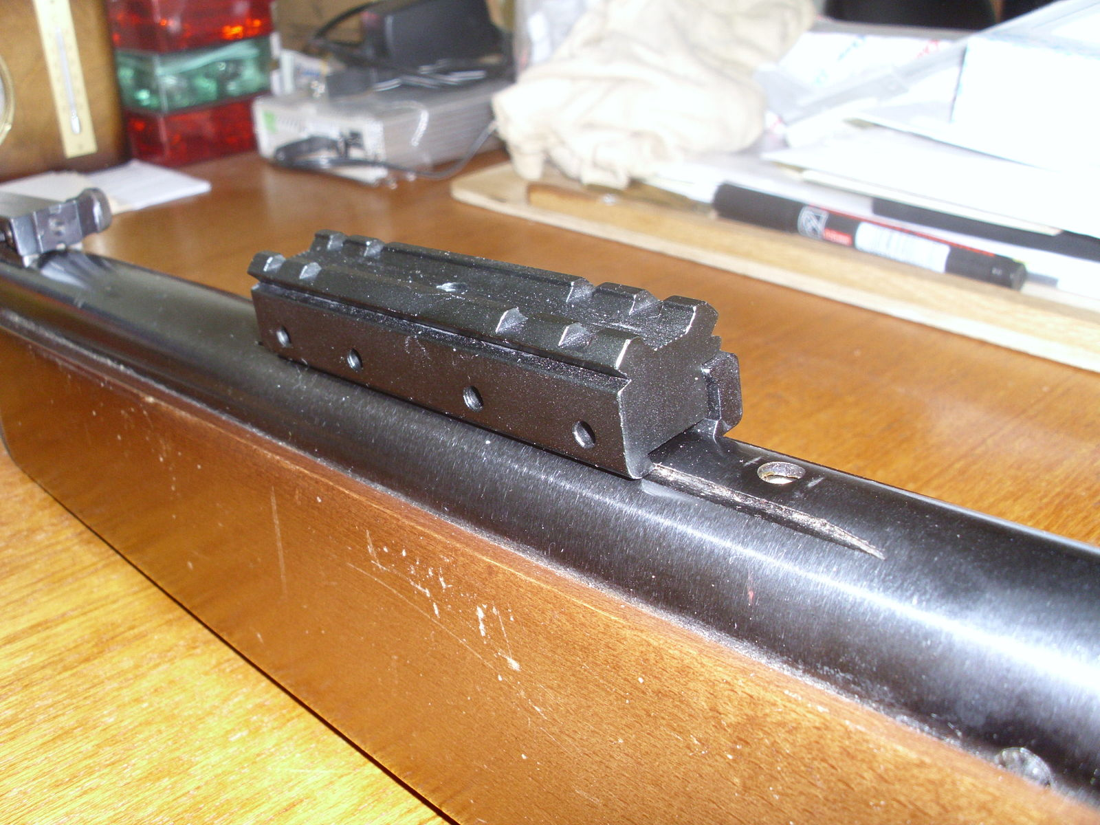 scope mount on gamo airgun