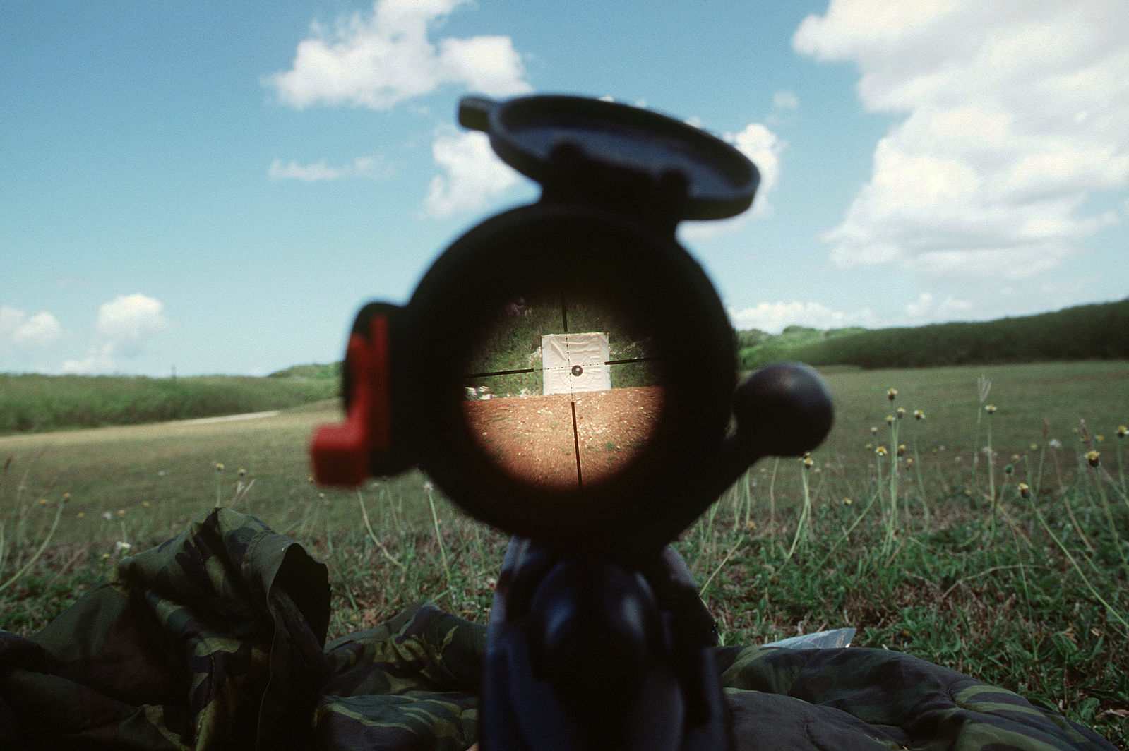 a view from a scope