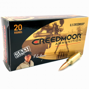 product photo of Creedmoor 6.5 Creedmoor 142 Gr Matchking Ammunition